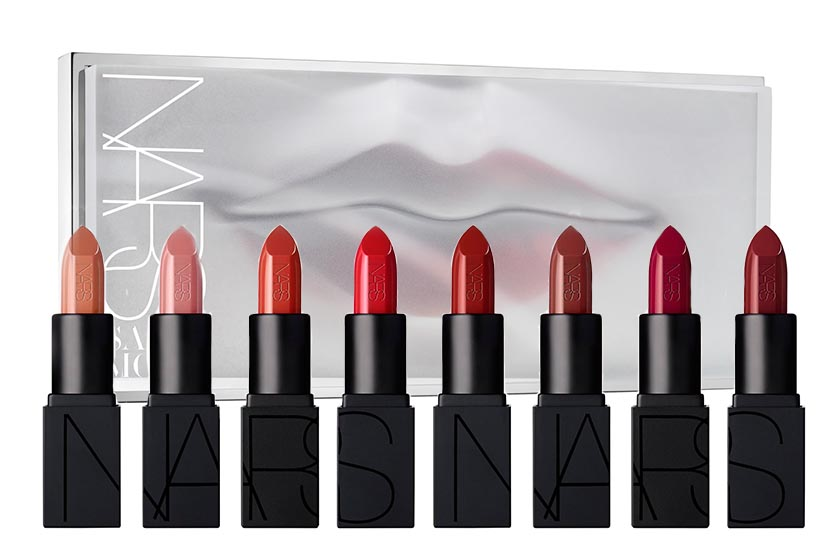 Nars Glass Metropolis Mini Audacious Lipstick Coffret, $150, available at Hudson's Bay and Holt Renfrew