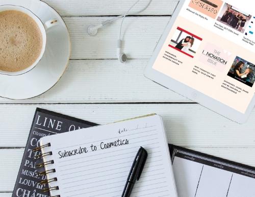 Free Digital Subscription to Cosmetics Magazine
