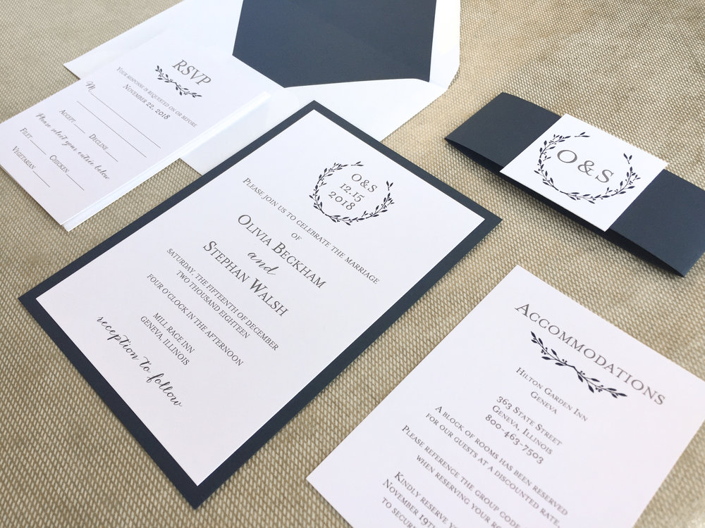Services — Charming Tree Design | Wedding Invitations and Stationery ...