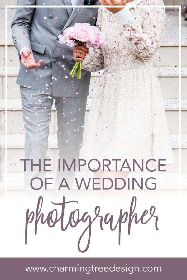 learn why it's important to hire a wedding photographer