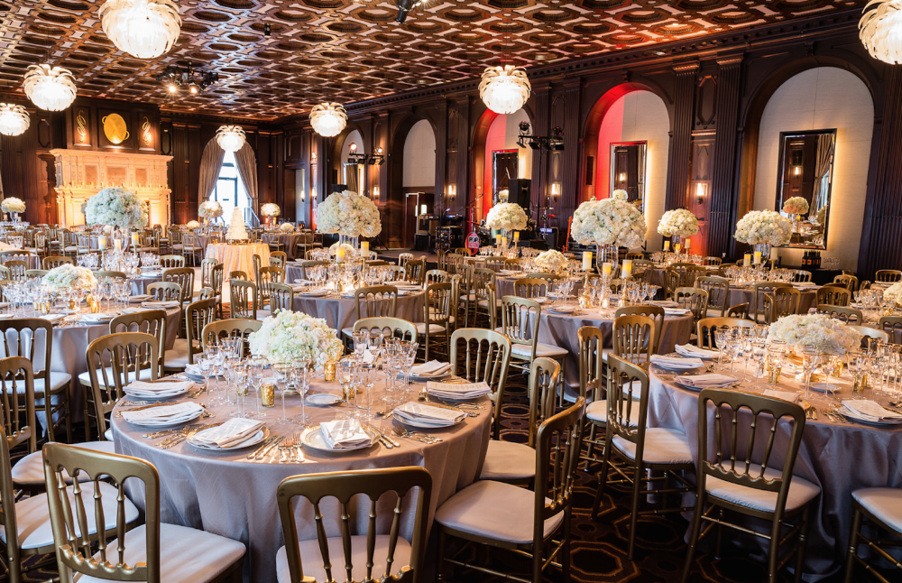 Venue -  Julia Morgan Ballroom  | Chairs and Rentals -  Hartmann Studios