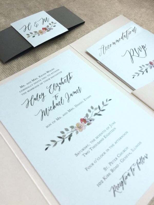 Invitation Suite by Charming Tree Design