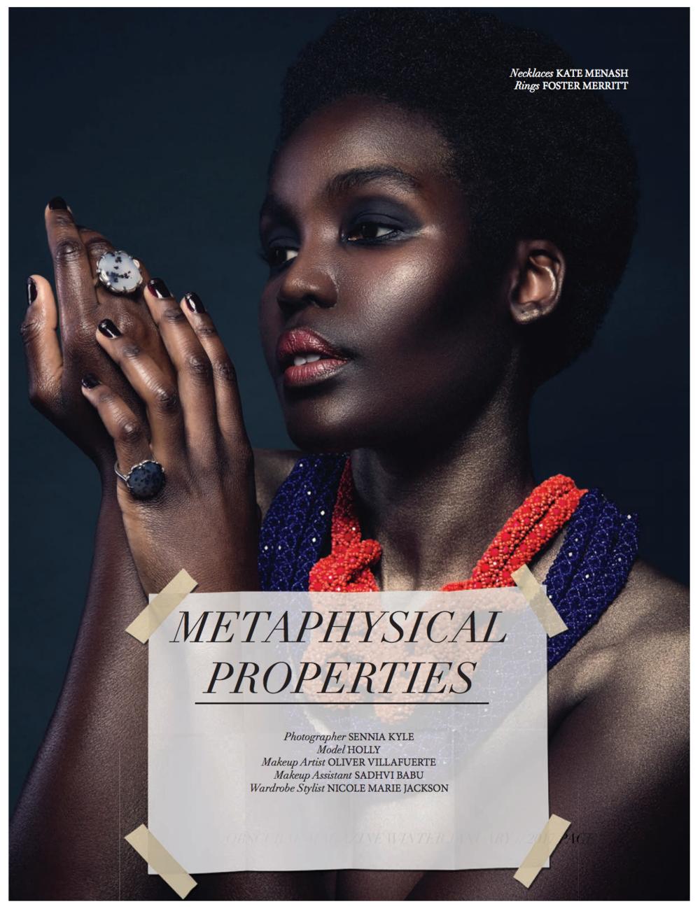 Obscurae Magazine January 2017