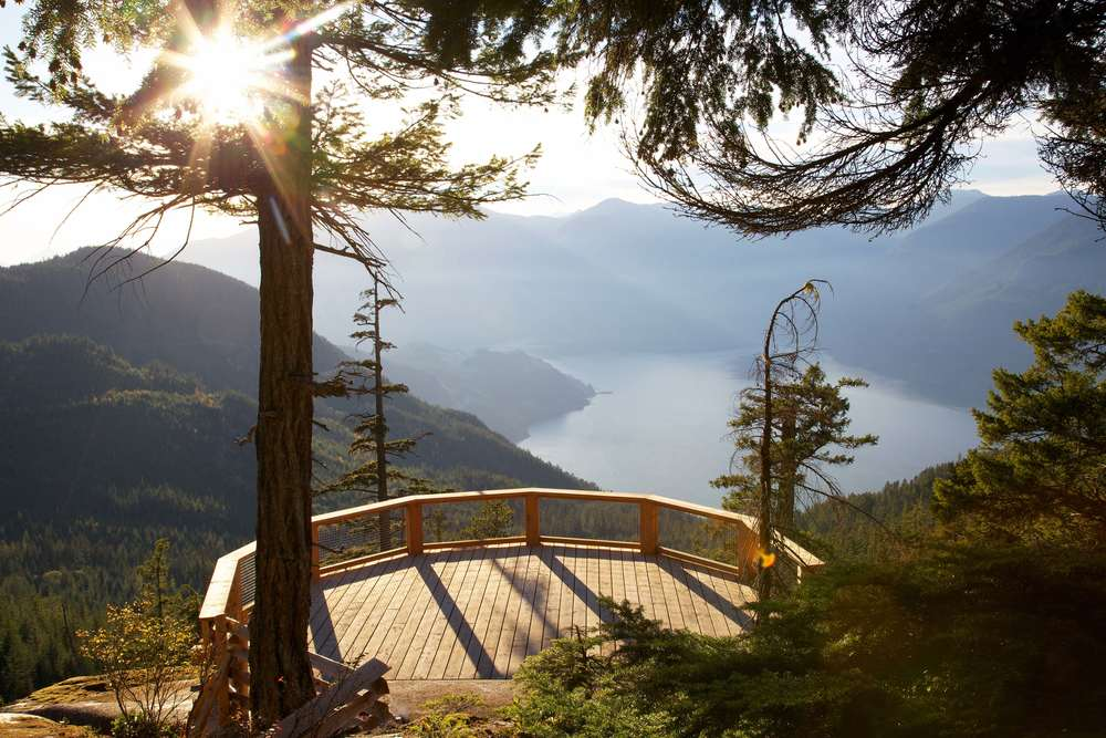 sea to sky gondola in squamish west vancouver