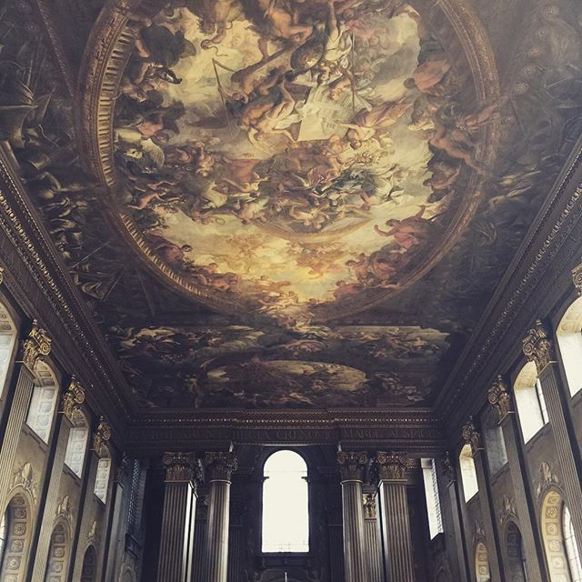 Final Location.  The Painted Hall.
