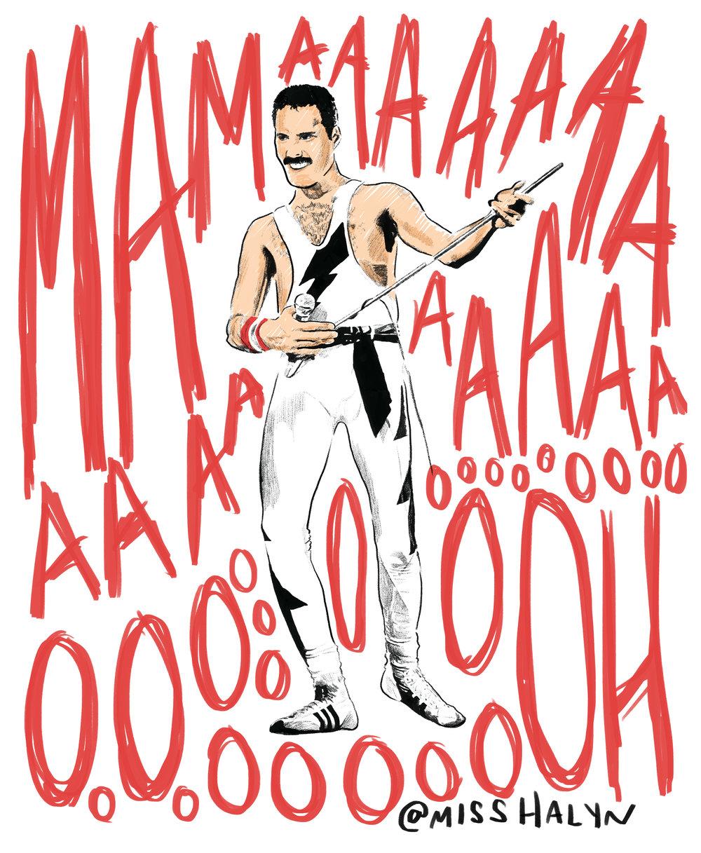 Freddie Mercury  Personal