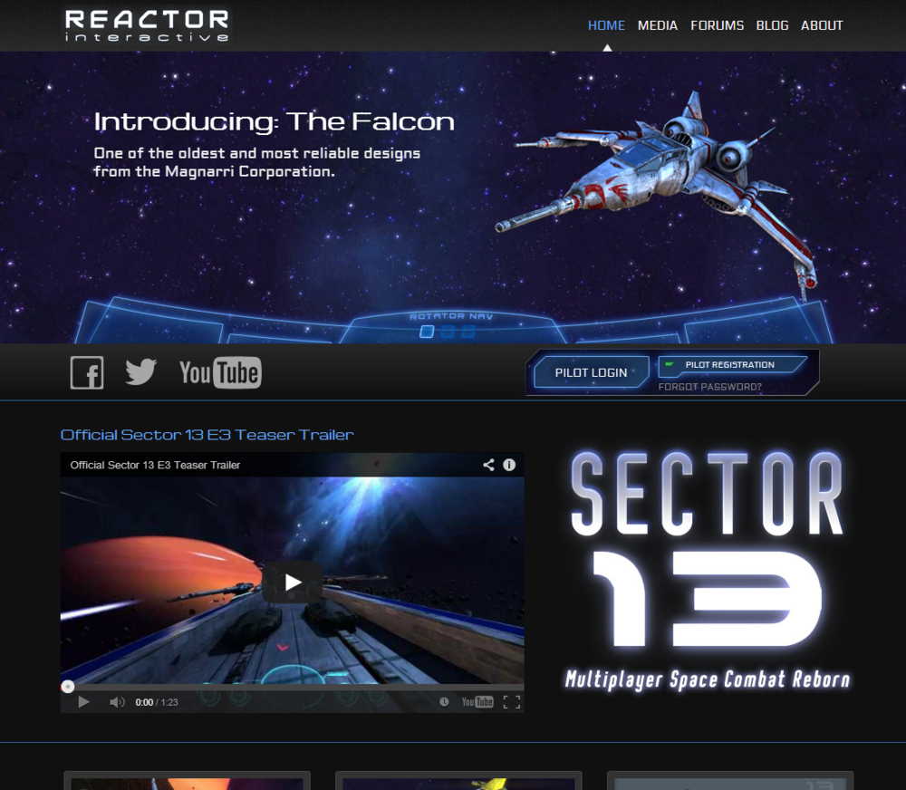 Reactor Interactive Website
