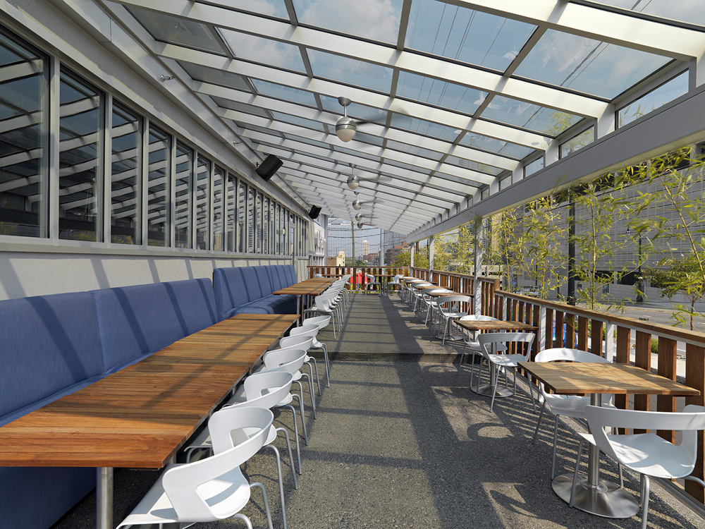Luckie Outdoor Dining Area