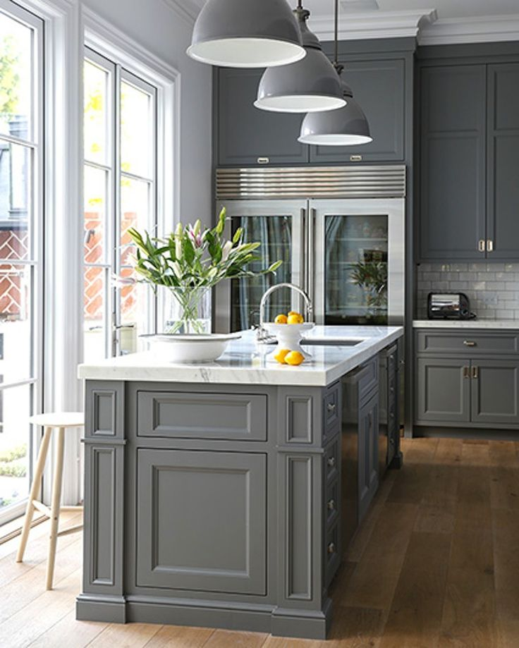 Grey Cabinetry