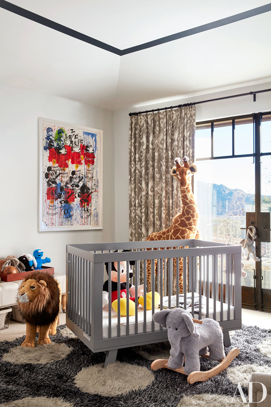 Kourtney's Baby Room