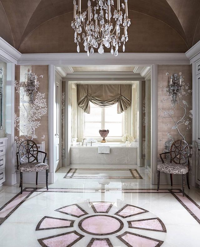 Pretty in pink bathroom 😍😍 #classy #interior #home #design #pink #prettyinpink #bath #everything