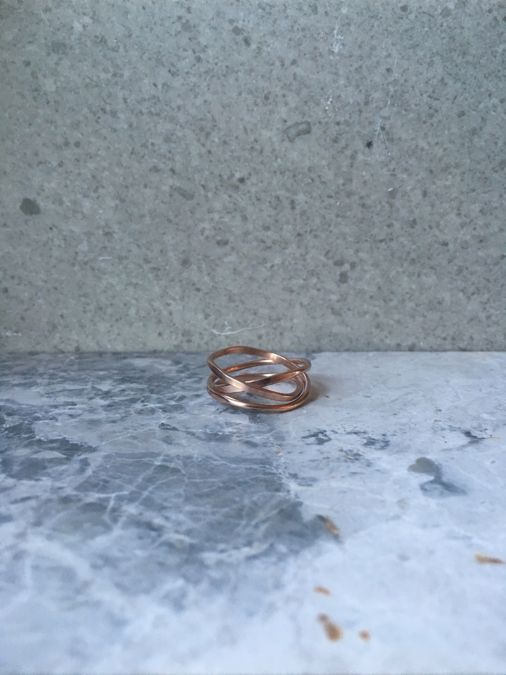 18 carat Rose Gold Vermeil