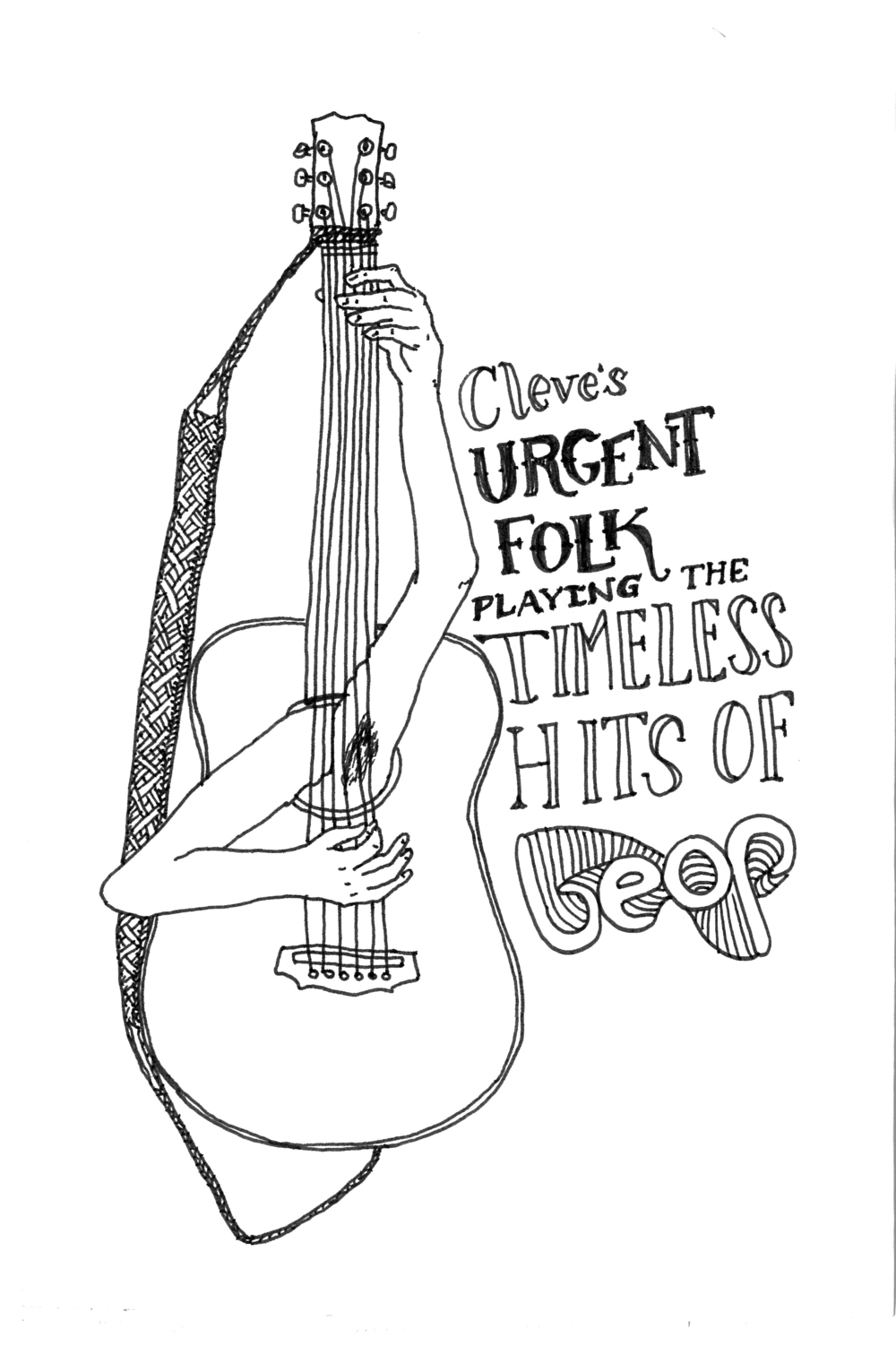 Cleve's Urgent-Folk. Illustration by Mariona Wessela-Comas.