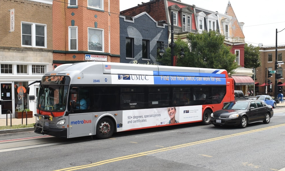 UMUC Outdoor & Transit Ads
