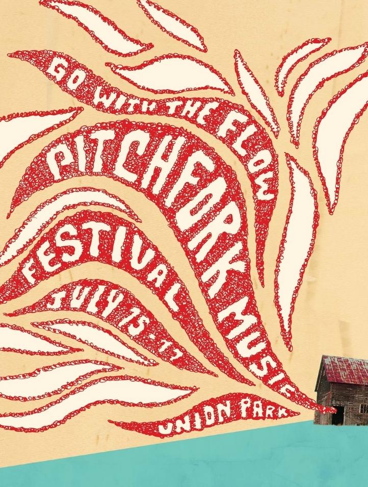 pitchfork music festival poster