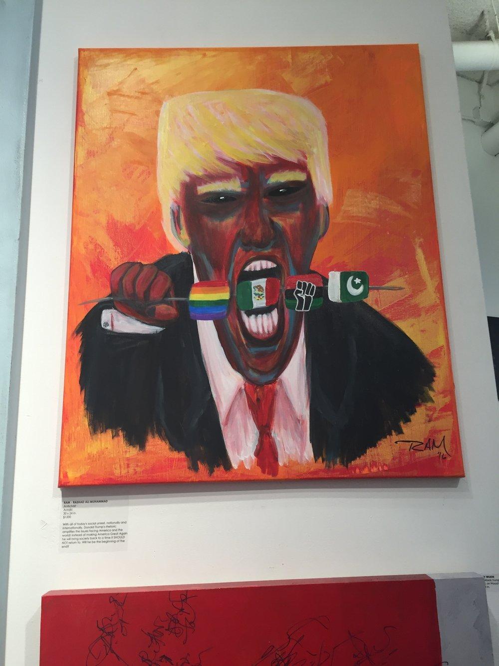 the antichrist donald trump art as politics
