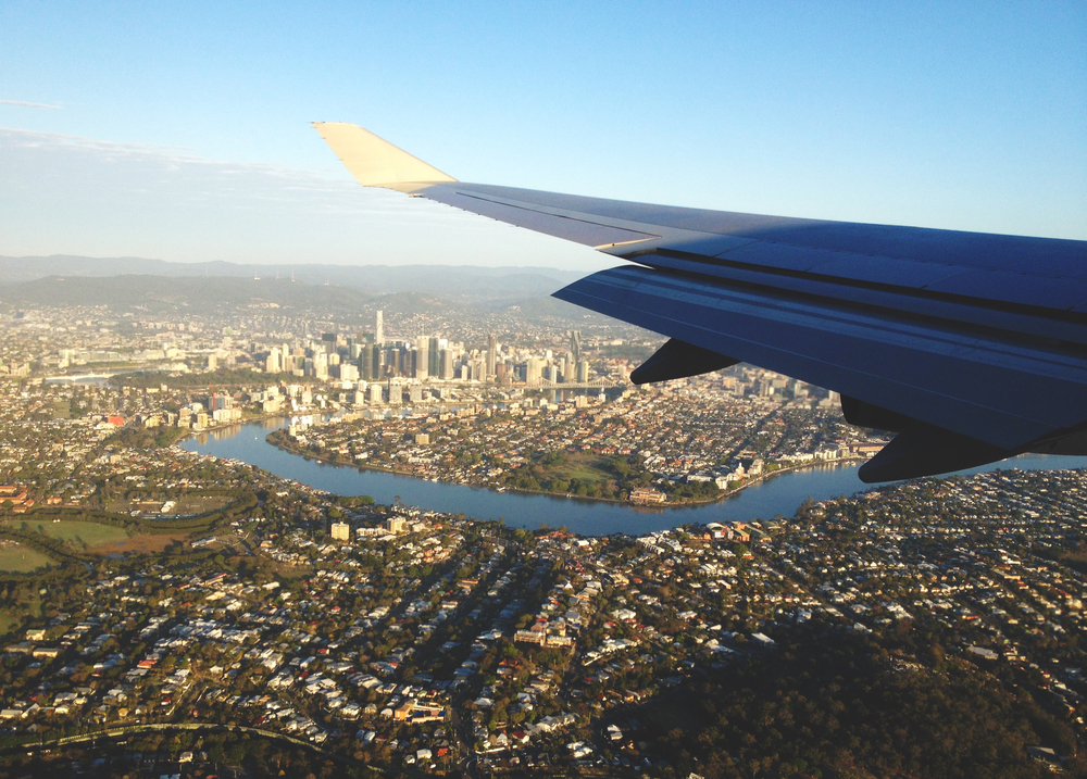 Flying in over Brisbane.JPG