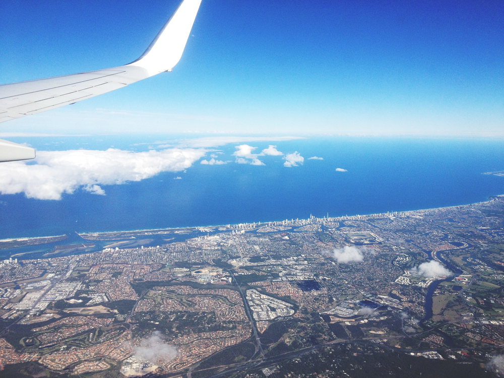 Flying over Gold Coast.JPG