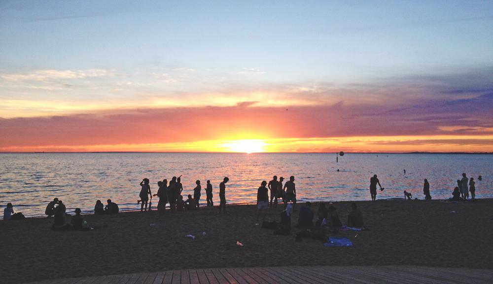 St Kilda Christmas Sunset.JPG