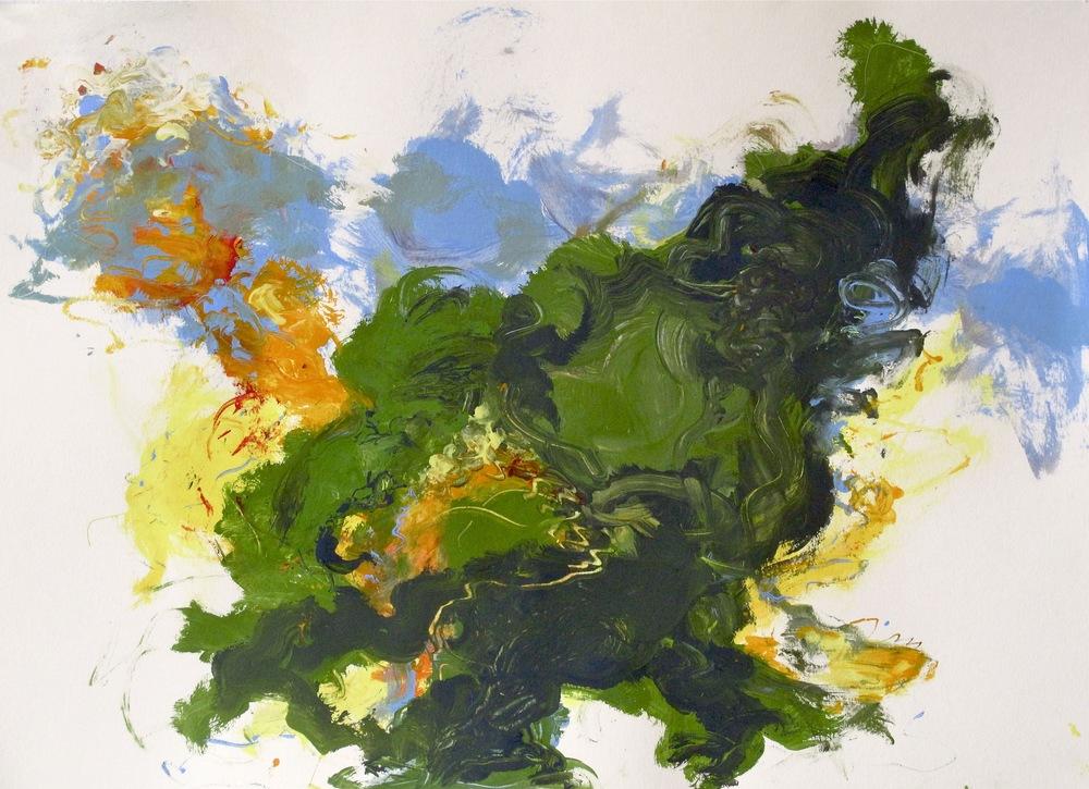 No Title 5, 2011 ( 200 * 125 cm.jpg