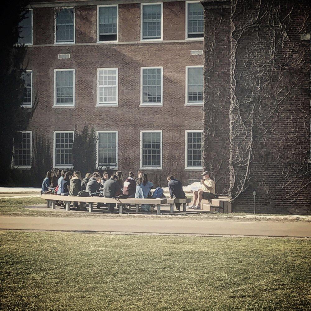 SUNY Potsdam Academic Quad, February 2017