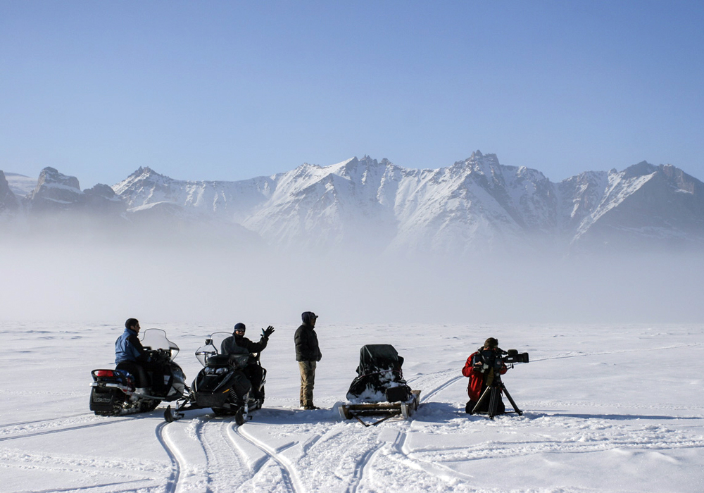 Baffin Safari film research snow arctic canada tours guides filming.jpg