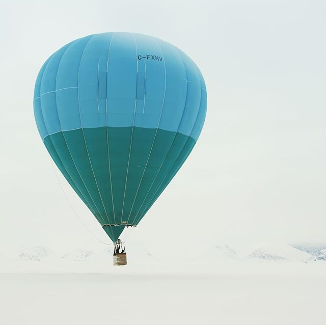 What gets you out of bed on a Sunday?  #BaffinSafari #arcticadventures #hotairballoon