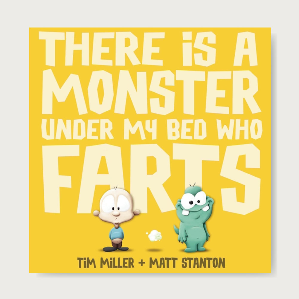 There is a monster under my bed who farts. You don't want to use the bathroom after him...  The funniest picture book since THE MOLE WHO KNEW IT WAS NONE OF HIS BUSINESS!  Everyone says, 'It wasn't me!' But what if it REALLY wasn't you? What if it was the monster who lives under your bed? How much trouble can one little monster cause... From two amazing new talents comes a hilarious picture book that's guaranteed to be a runaway hit with both young and old. Ages: 2+
