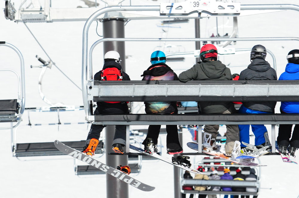 Lift rides New Zealand Epic Snow Board