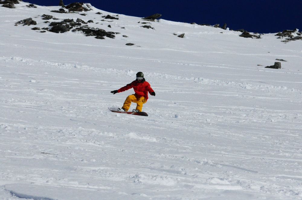 Del Ripping at The Remarkables