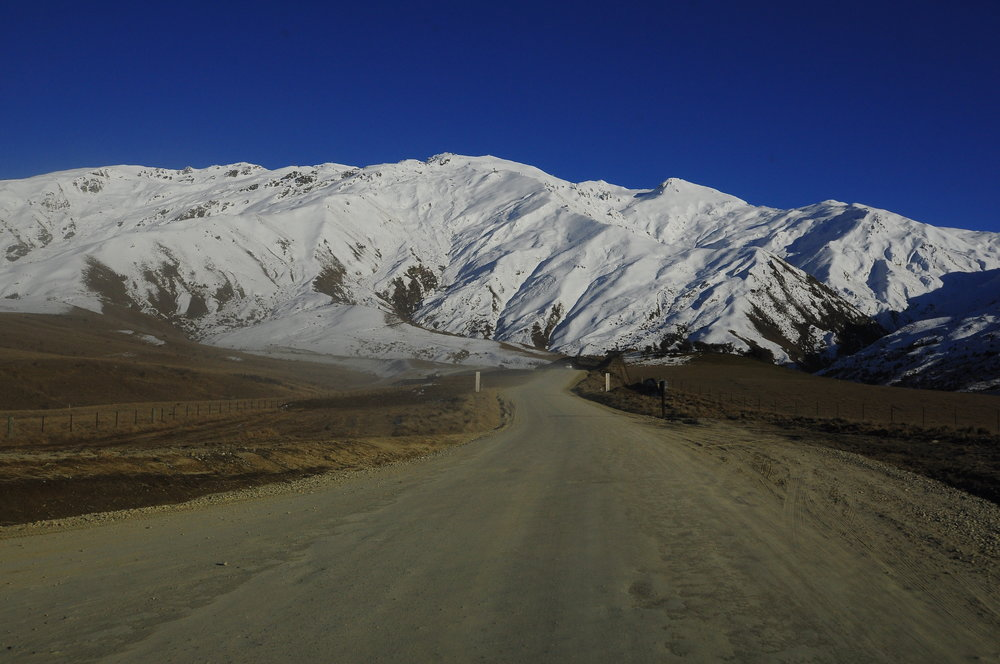 the drive to cardrona