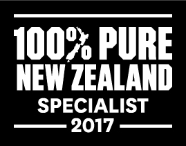 New Zealand Pure logo epic snow accredited