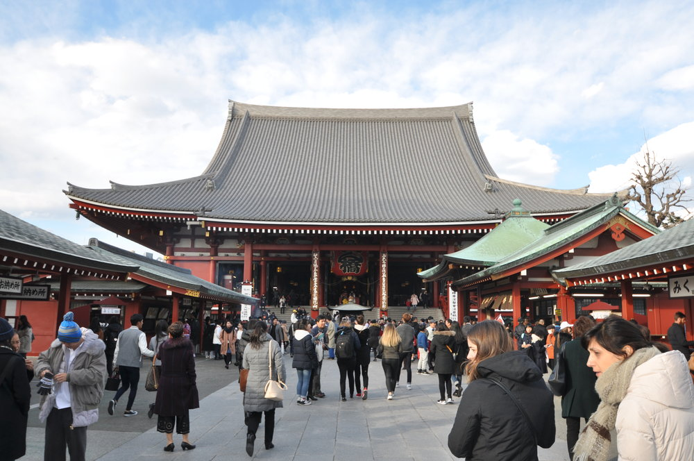 Sensoji Temple Tokyo Epic Snow trip