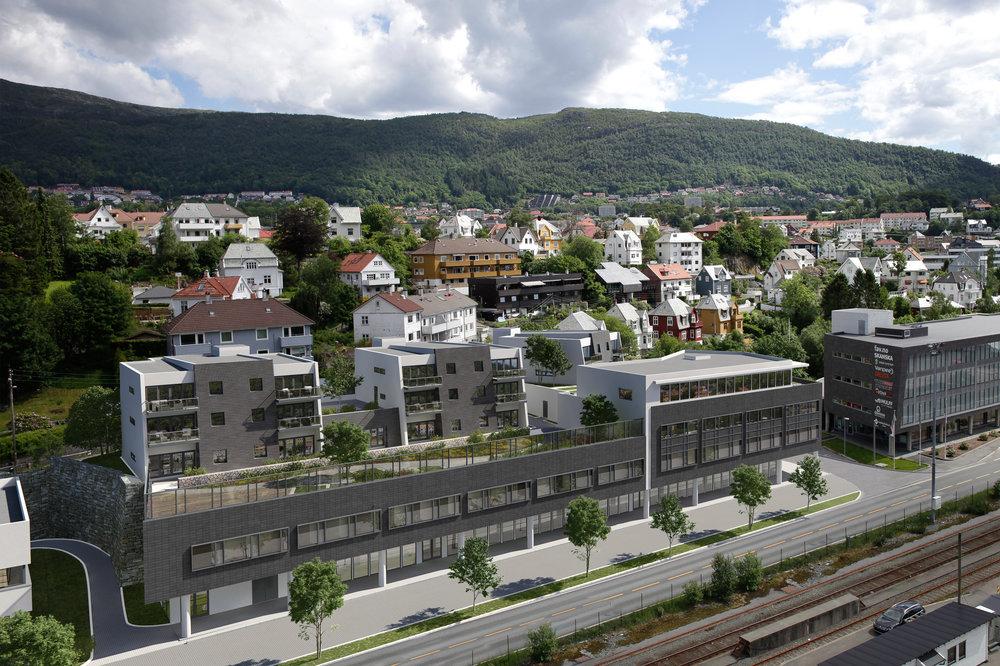Kanalveien 60 - Næring og Bolig prosjekt