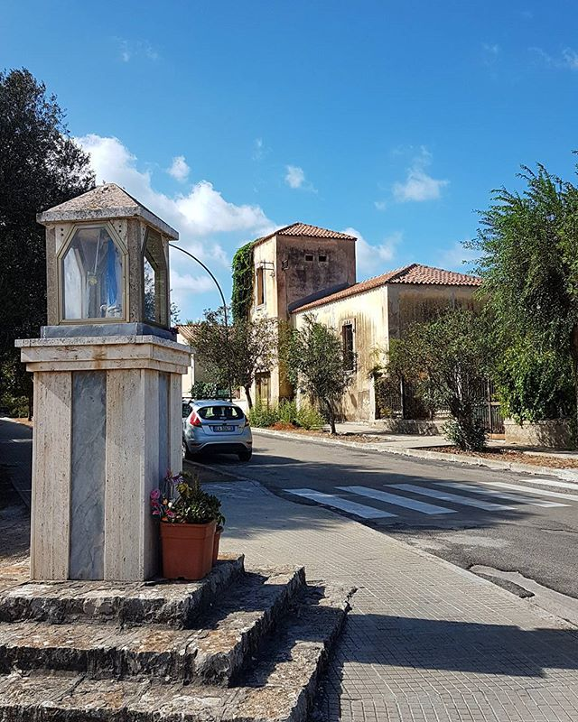 These roads and #buildings 💙 #sardinia #italia #travelguide #vacation #summer #blue #culture