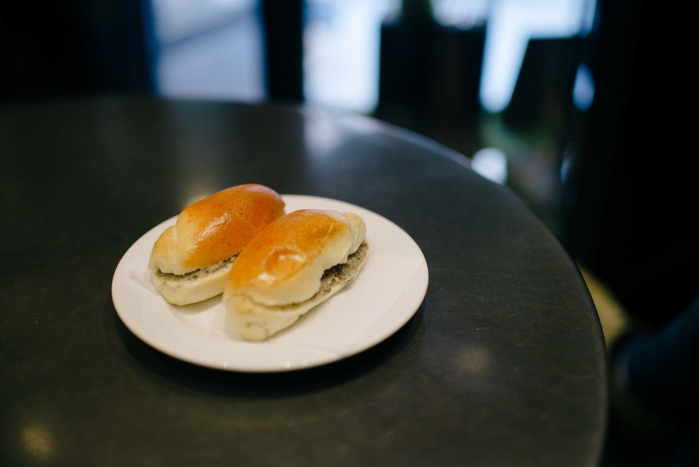 The amazing truffle sandwiches