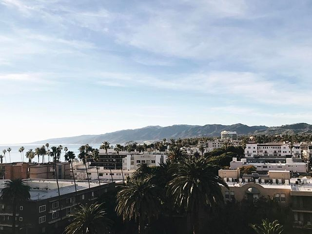 Hi again LA and dreamy room view 👋 #LA #santamonica #losangeles #view #california #vscocam #vsco #oceanview #travel #luckygirl