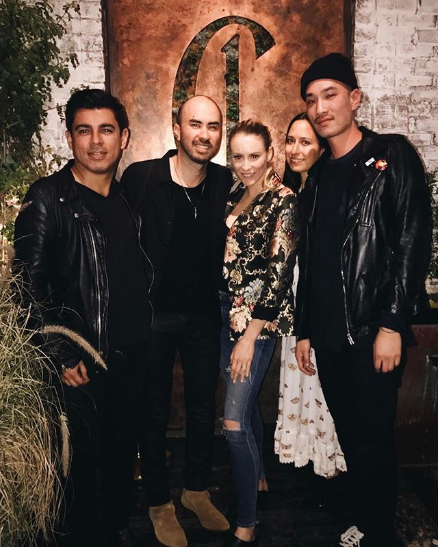Last night when the fashion whizzes from @revolve showed us a good time in West Hollywood. #Google hearts #RevolveClothing 👌 #allblackeverything #didntgetthedresscode #google #catchLA #westhollywood #losangeles #workhardplayhard