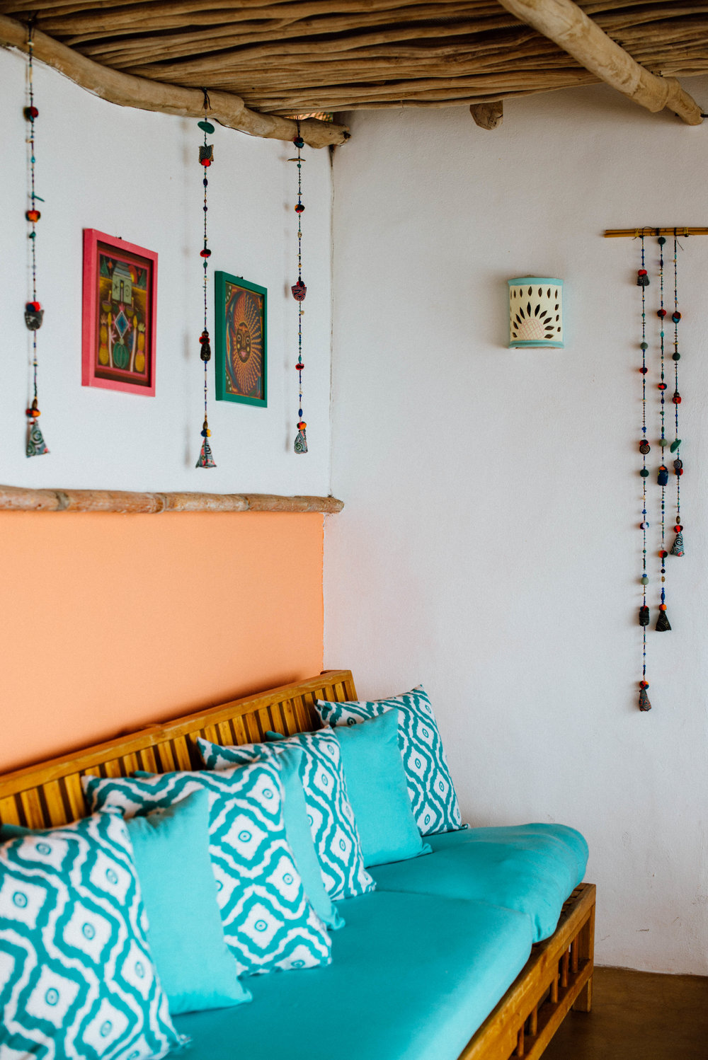 Authentic Mexican interior, like taking a happiness pill!