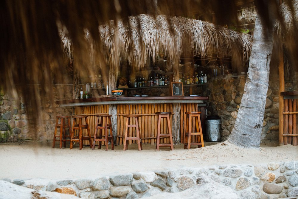 The Beach Bar at Playa Escondida