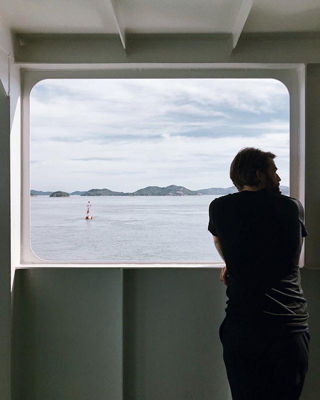 Naoshima bound and preparing to be mind blown 🤯 . . . . . . #naoshima #artisland #naoshimaisland #architecture_lovers #japan #traveljapan #ferryride #japantravel #vscocam #vscotravel #vscojapan #travelgram #travelingcouple #honeymoon #unoport #artlovers #nomadlife #love #view #landscape #neverstopexploring #wanderlust #kagawa