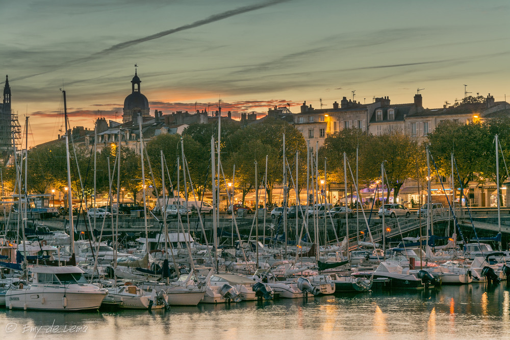 The harbour town of La Rochelle is situated 30 minutes drive from our B&B