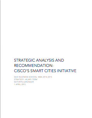 Cisco Smart Cities Report
