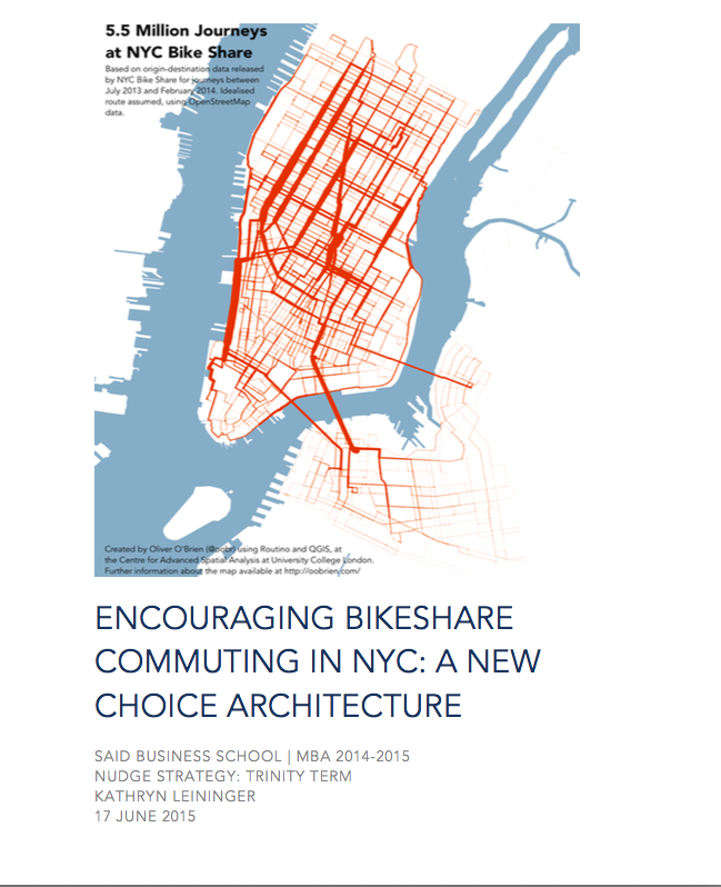 Citi Bike Nudge Strategy Report
