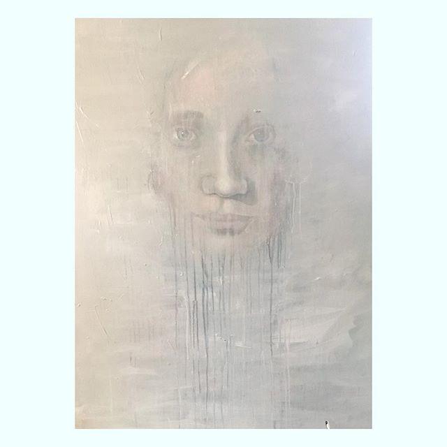 "⚡️Exhibition ""5 Faroese Artists"" on saturday at @gallerynordoy feat. @johanmartinchristiansen - @beintaavreyni - @annikagregoriussen - @wood.woman ⚡️ Hedebygade 2/1753 Copenhagen V// - ""gracescale3"" 100 x 150 - 2018 - #contemporaryart #artshow #exhibition #samtidskunst #kunst #list #portrait #grey #face #abstract #modern #nordiskehjem #boligindretning #danishdesign #visitfaroeislands #copenhagen #architecture #artporn #fade #light"