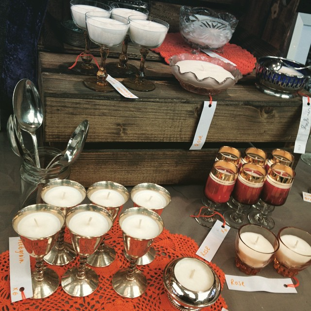 #greenwichmarket #vintage #handmade #glassware #gifts #candles #cards