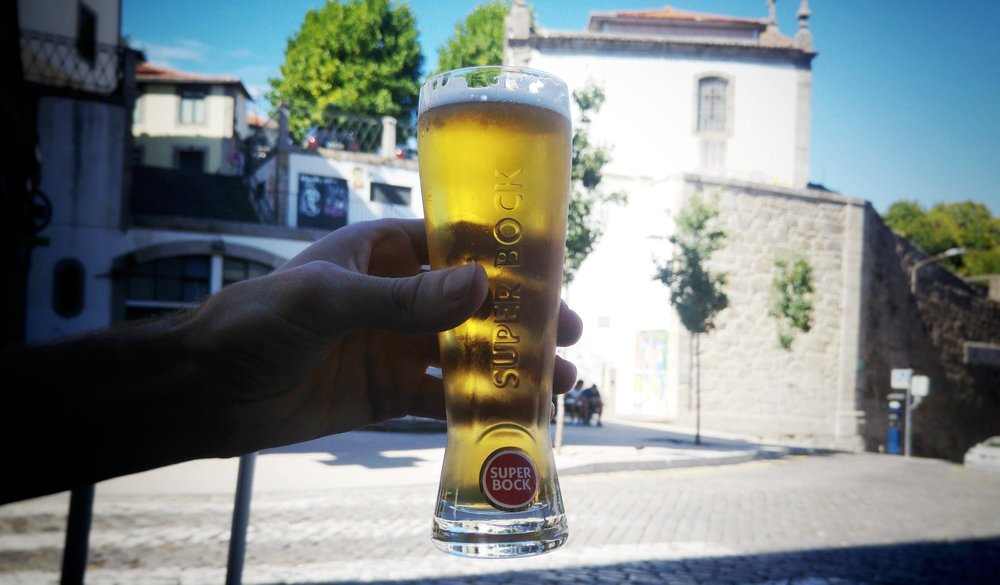 The ubiquitous Super Bock