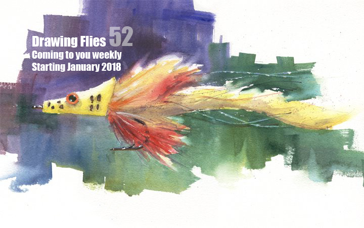 Yes Drawing Flies 52 will be back in 2018! Details to follow.