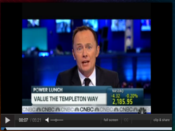 Lauren Templeton and Scott Phillips are interviewed on CNBC's Power Lunch