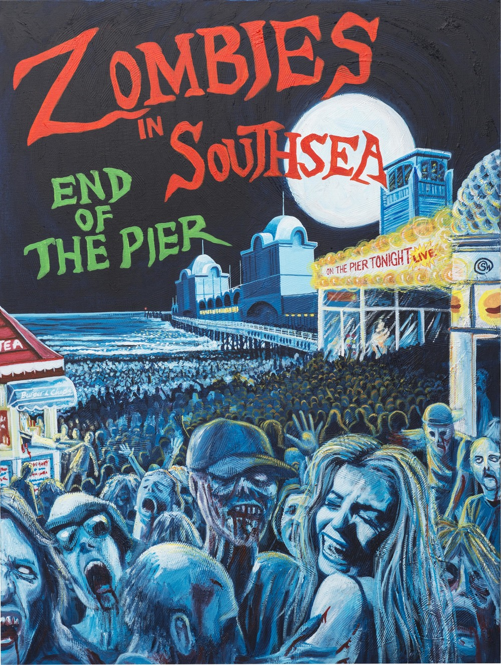 Zombies in Southsea, End of The Pier